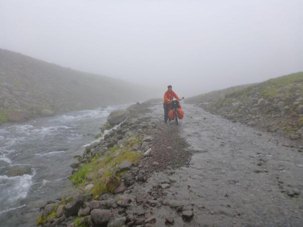 NS Nimbostratus in Iceland