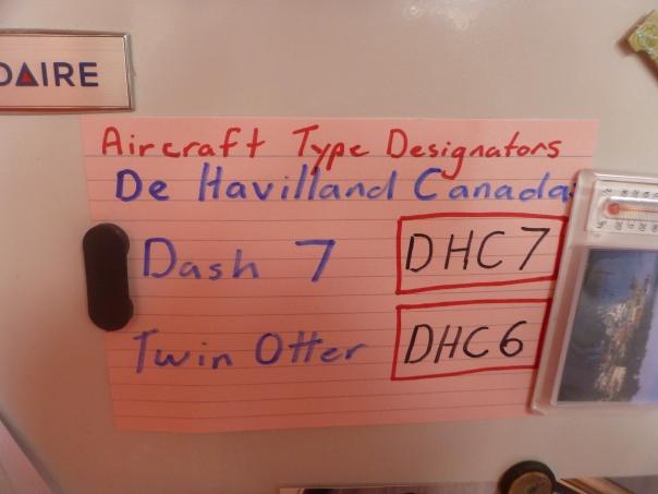 ICAO Aircraft Type Designator Codes