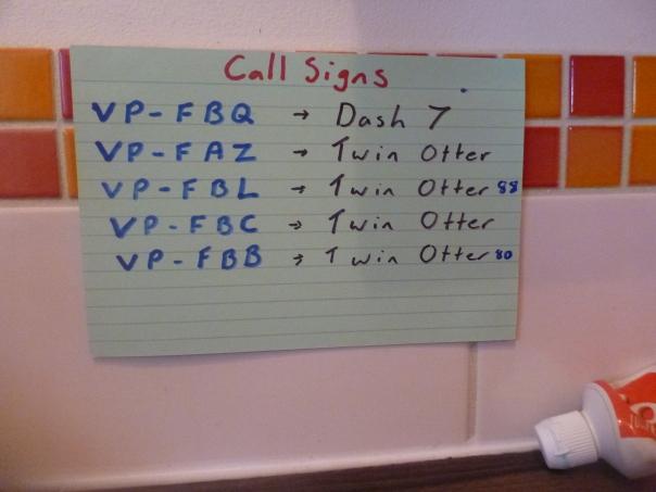 callsigns