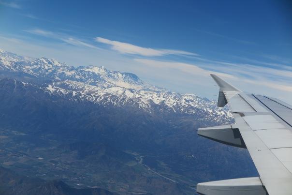 Flight to Puerto Montt