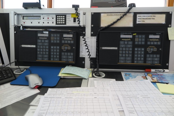 HF radios in the tower