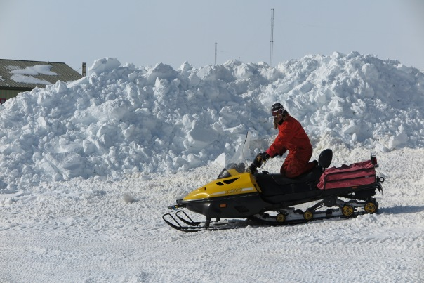 And Skidoo training