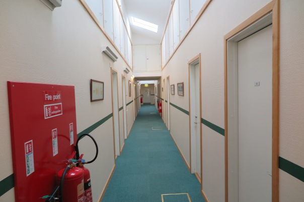 Admirals Accommodation  Building Corridor